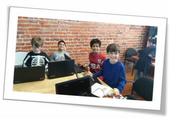 Campers enjoy Waxhaw Kid Coders summer camp
